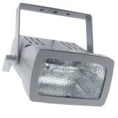 150W METAL HALIDE FLOODLIGHT C/W LAMP, SILVER