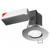 i9 IP65 9W LED DOWNLIGHT POLISH CHROME W/WHITE